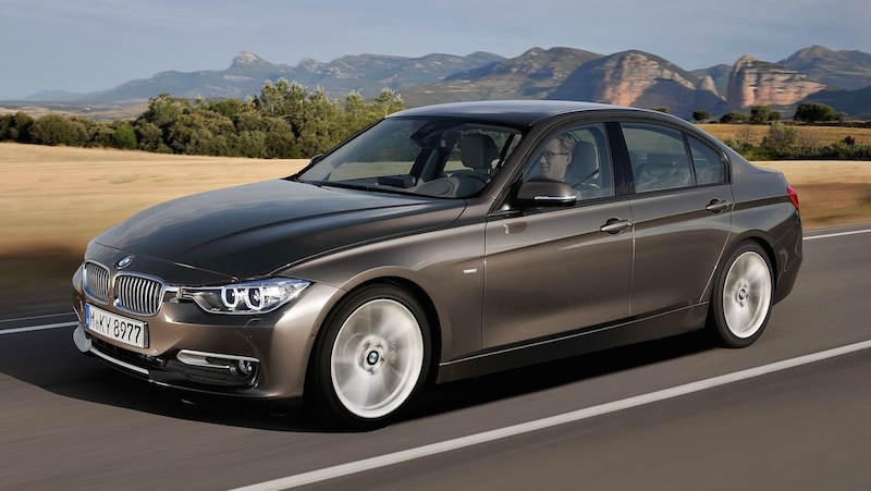 The new BMW 3 Series Sedan, Modern Line (10/2011)
