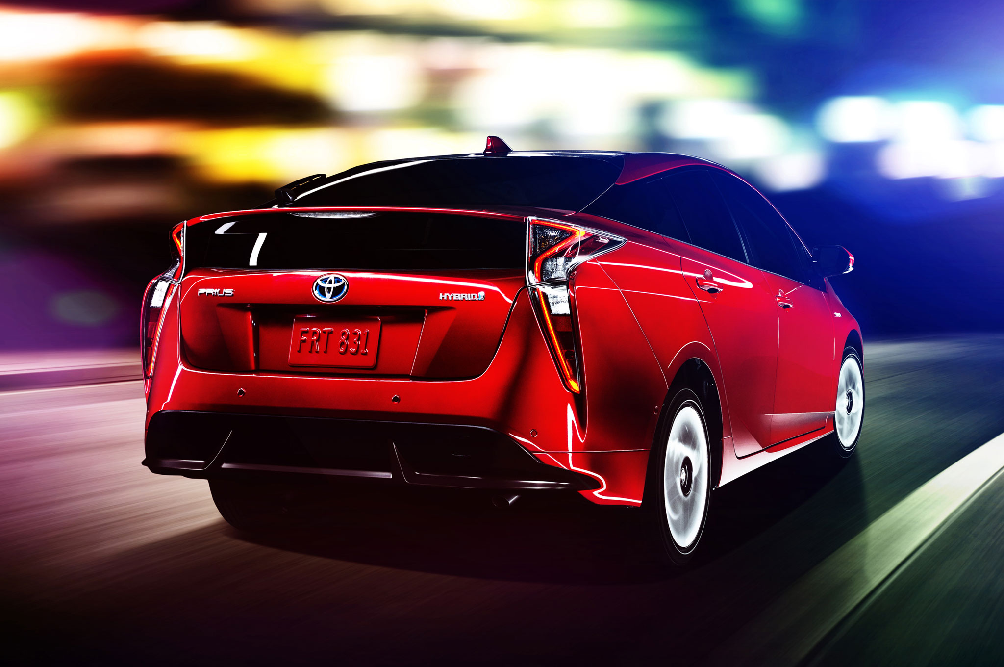 2016-toyota-prius-rear-view-in-motion