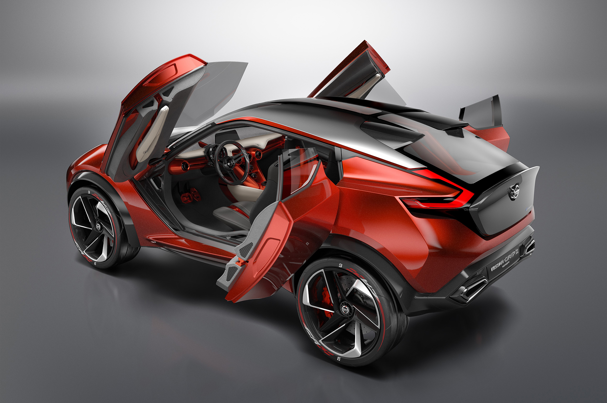 nissan-gripz-concept-rear-three-quarters-doors-open
