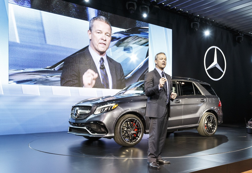 Mercedes-Benz und smart auf der New York International Auto Show 2015Mercedes-Benz and smart at the New York International Auto Show 2015