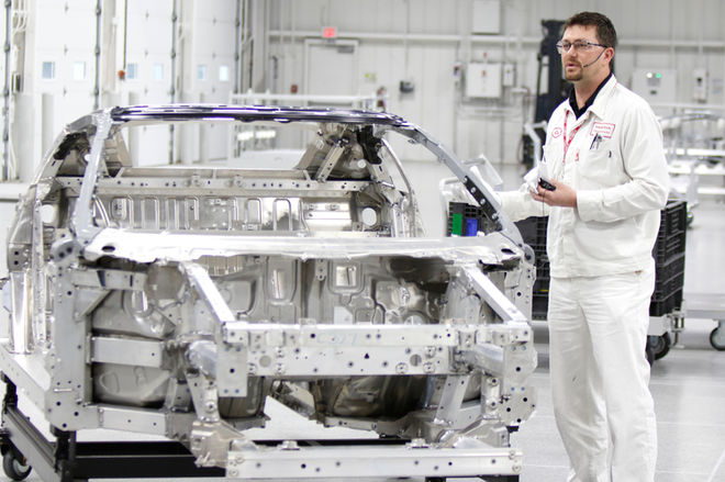Acura-NSX-PMC-Factory-Tour-finished-space-frame