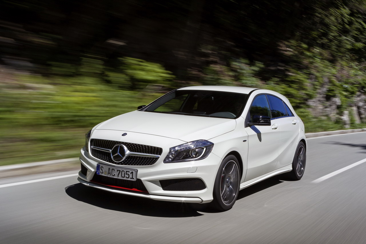 The new Mercedes-Benz A-Class Market Launch - I