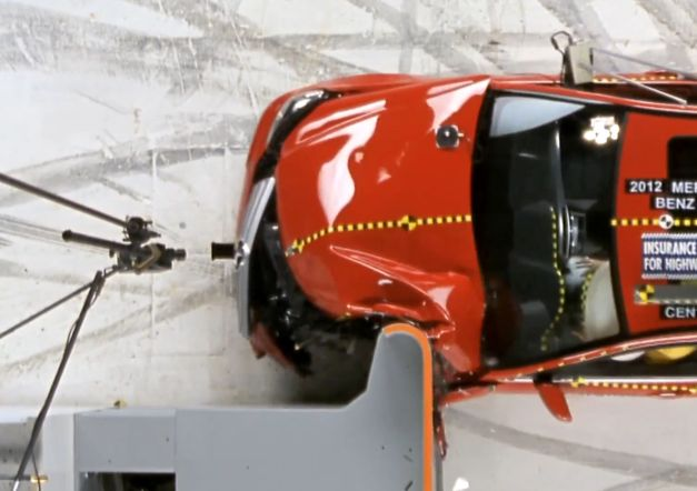 2012-IIHS-Small-Overlap-Frontal-Crash-Test