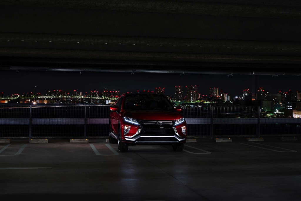 2018-Mitsubishi-Eclipse-Cross-front-end-parked