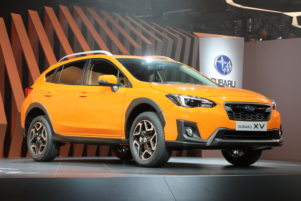 2018-Subaru-Crosstrek-Euro-Spec-front-three-quarter