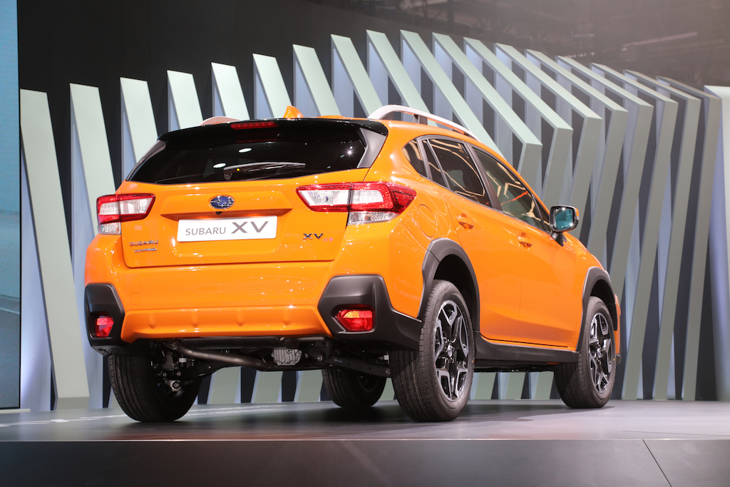2018-Subaru-Crosstrek-Euro-Spec-rear-three-quarter