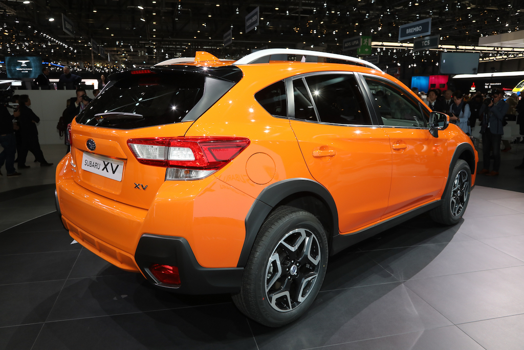 2018-Subaru-Crosstrek-Euro-Spec-rear-three-quarters