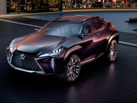 Lexus-UX-Concept-front-three-quarter